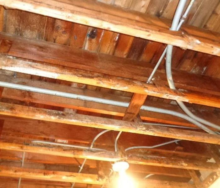 Extensive Roof Leak Causes Multiple Damages After